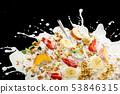 granola bars, nuts, granola clusters, healthy 53846315
