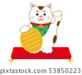 貓招手貓墊 53850223