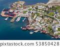 Reine fishing village on Lofoten islands, 53850428