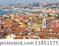View of Old Town in Nice. Cote d'Azur France. 53851575