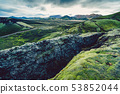 Surreal and colorful landscape of Iceland 53852044