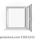 opened window template 53853243