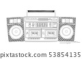 Boombox sketch 53854135