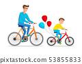 自行车 脚踏车 儿子 53855833