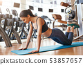 female, fitness, girl 53857657