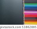 Pencils of various colors 53862885