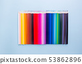 Pencils of various colors 53862896