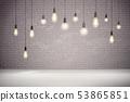 Light Bulb Background 53865851