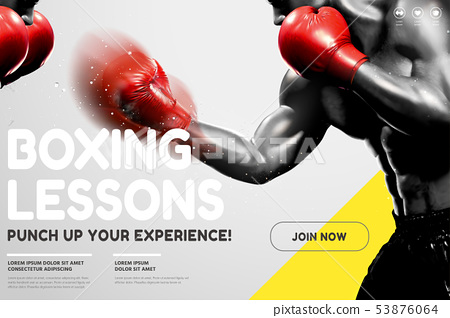 Boxing lessons website 53876064
