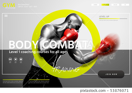 Boxing lessons website 53876071
