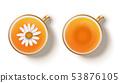 Camomile hot tea 53876105