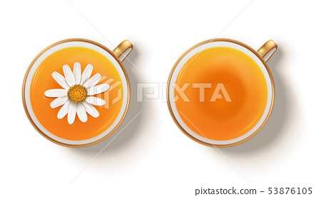 Camomile hot tea 53876105