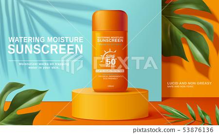 Moisture sunscreen ads 53876136