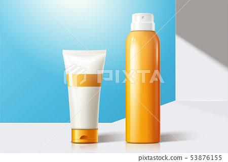 Sun spray blank bottles 53876155