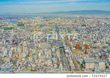 大阪都市風景港區Kohana Ward 53878427