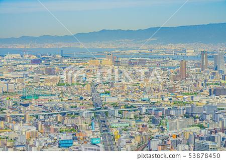 오사카 도시 경관 다이쇼 구 고노 하나 구 방면 53878450