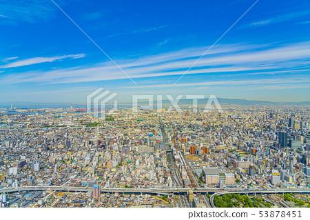 오사카 도시 경관 다이쇼 구 고노 하나 구 방면 53878451