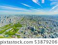 Osaka Cityscape North Direction from Abeno Harukas 53879206
