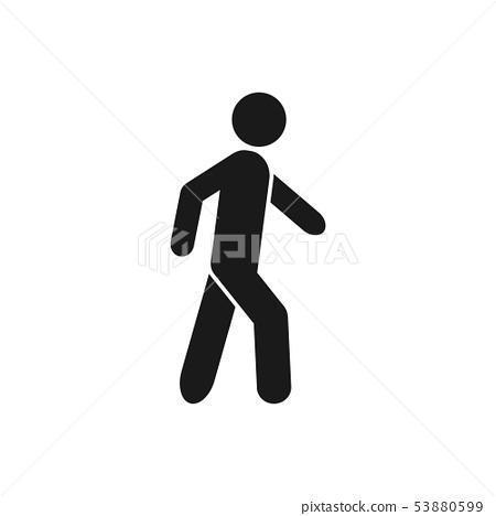 walk vector icon sport symbol for graphic design stock illustration 53880599 pixta pixta