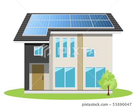 주택 (태양 전지판) 53890047