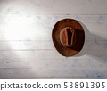 Wooden Wall Hat 53891395