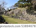 Nagoya Castle ruins The ruined Honmaru Ishigaki 53894678