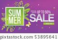 Purple summer paper art for Sale 53895641