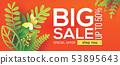Orange summer paper Big Sale 53895643