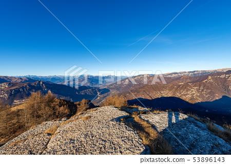 Italian Alps and Plateau of Lessinia - Italy  53896143
