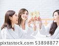 浴袍 女性 女 53898877
