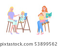 Mother and Child, Childcare Motherhood Family 53899562