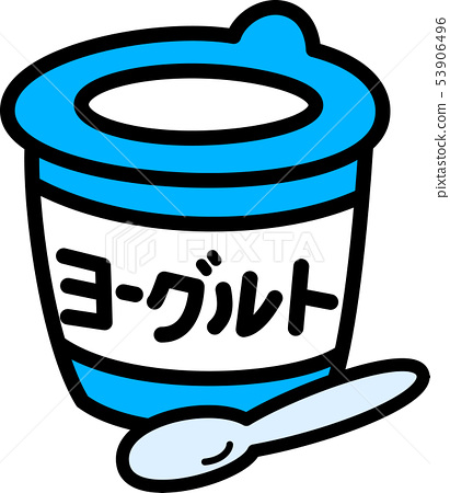Yogurt cup 53906496