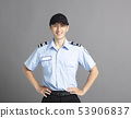 Portrait Of Asian Male Security Guard 53906837