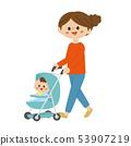 엄마와 아기 53907219