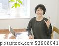 ผู้หญิงวัยกลางคน 53908041