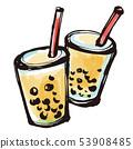 Sumie繪畫珍珠粉奶茶 53908485