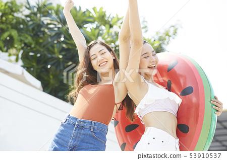 女性女性旅程度假村 53910537