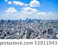 Tokyo, Shibuya, Shinjuku, urban scenery 53911043