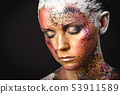 Bird Girl Fantasy Makeup 53911589