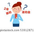 Smartphone懲罰婦女傳染媒介例證 53912871