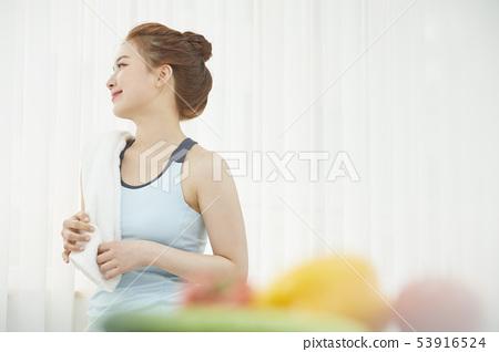 여성 라이프 스타일 건강 53916524