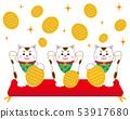 貓召喚貓墊橢圓形 53917680