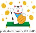 貓召喚貓墊橢圓形 53917685