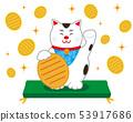 貓召喚貓墊橢圓形 53917686