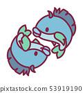 vector cute Zodiac sign icon 53919190