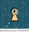 keyhole black hole 53920906