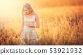 woman, field, women 53921932