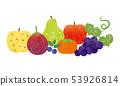 소재 - 가을 과일 테크 53926814