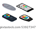 Remote control tv vector remoted controller television channel technology media entertainment 53927347