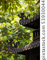Chinese temple traditional roof ornaments 53930044